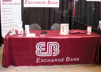 Exchange Bank Table Cover