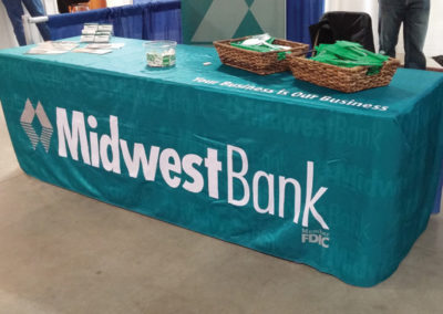 Midwest Bank Table Cover